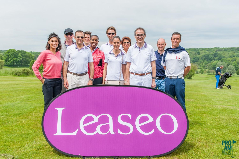 Leaseo, principal partenaire du ProAm des Vip de l'immobilier depuis 2010